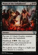 4x Moan of the Unhallowed ● Duel Decks: Blessed vs. Cursed ● M/NM ● Magic MTG