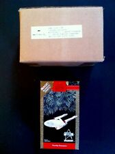 Star Trek 1991 USS Enterprise Hallmark Ornaments SET OF 3- 2case Boxed, XX Rare