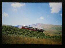 POSTCARD B45-24 ANGLESEY SNOWDON MOUTAIN RAILWAY - THE RED LOCO