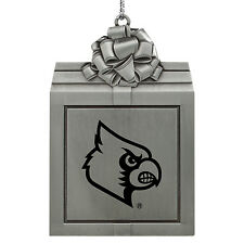 University of Louisville -Pewter Christmas Holiday Ornament-Silver