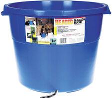ALLIED HEATED WATER BUCKET Heavy Duty Plastic 6ft Cord Keeps Ice Free 16 Gallon