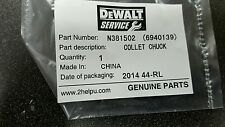 DEWALT N381502 COLLET CHUCK FOR LAMINATE TRIMMER DWE6000