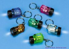 144 FLASHLIGHT BULB - mini key chains - wholesale lot ~ ( 12 dozen )