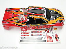 NEW TRAXXAS T-MAXX 2.5 Body ProGrapix Red RW5R