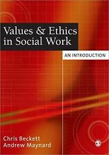 Values and Ethics in Social Work: An Introduction-ExLibrary