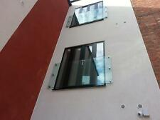 17.5mm Toughened laminated Glass  Juliet Balcony 1500mm x 1100mm with 6 fixings