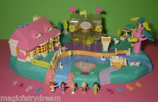 Polly Pocket Mini ♥Tolle Magnet Welt♥ Magical Movin' Pollyville ♥ 100% Komplett