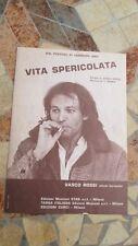 VASCO ROSSI vita spericolata SPARTITO ORIGINALE 1983 ed star ed Curci BLASCO