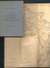 Guida Itineraria Delle Strade Di Grande Comunicazione,Italia Meridionale,1930  R