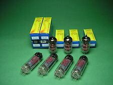 Röhrensatz  = 4 x EL84 JJ (matched Quad) + 3 x ECC83S JJ NEU -  tube amp