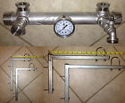 Stainless Constant Pressure Manifold Kit for Easy Grundfos SQE Installation