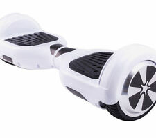 "UL 2272 Certified 6.5"" Electric Self Balancing Scooter Hoverboard - White"