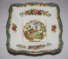 "ROYAL ALBERT Bone China Pin Candy Dish ""CHELSEA BIRD"" England"