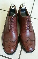 222- Richelieu hommes marron Crockett & Jones Sandhurst 8E/42 excellent état