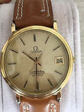OMEGA CONSTELLATION CHRONOMETER  PLATED GOLD
