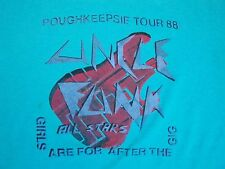 Vintage Uncle Funk Poughkeepsie Bill Stars Concert Tour 80's Girls T Shirt M