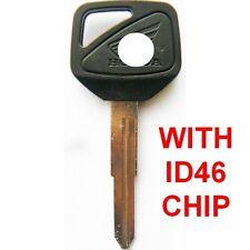 Honda Motorcycle Motorbike CBR 600 F4i 929 954 1100XX CB Key Blank + Chip ID46