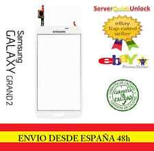 CRISTAL DIGITALIZADOR PANTALLA TACTIL SAMSUNG GALAXY GRAND 2 G7105 G7106 BLANCO