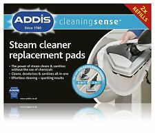 Addis 5-in-1 Steam Cleaner Pads floors Washable Replacement Pack of 4 Microfibre