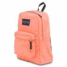 Jansport Superbreak Backpack Coral Peaches School backpack book bag NWT