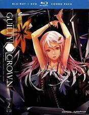 Guilty Crown: Part 2 (Blu-ray/DVD, 2013, 4-Disc Set)