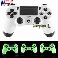 Glow in the Dark Front Shell Faceplate Repair for Dualshock 4 PS4 Controller