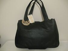 NWT $348 MICHAEL KORS FULTON LARGE EW BLACK TOTE HANDBAG PURSE