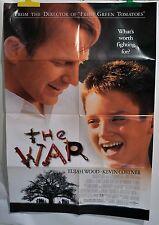 """Kevin Costner Elijah Wood Poster Movie The War One Sheet Folded 40""""x27"""" 1994"""