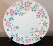 Churchill Fine English Tableware Briar Rose Dinner Plates x1 Pink/Purple Flower