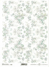 Rice Paper for Decoupage Scrapbooking, Bouquets of Flowers ITD R629