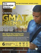 Cracking the GMAT Premium Edition with 6 Computer Adaptive Practice Tests