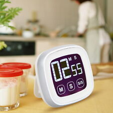 LCD Digital Touch Screen Kitchen Timer Practical Cooking Timer Countdown