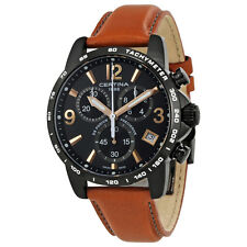 Certina DS Podium Chronograph Black Dial Mens Watch C034.417.36.057.00