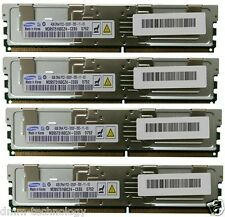 HP DELL 32GB(8x4GB)DDR2 PC2-5300F 667MHz ECC Fully Buffered SERVER MEMORY RAM/