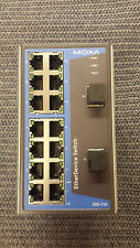 MOXA EDS-316 16-PORT UNMANAGED ETHERNET SWITCH
