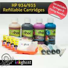 Premium HP 934/935 Refillable Ink Cartridges & Ink Officejet Pro 6230 6830 Rihac