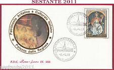 ITALIA FDC ROMA LUXOR 388 PALAZZO DELLA RAGIONE PADOVA AFFRESCHI 1989  U147