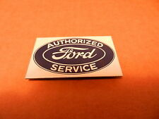 "FORD AUTHORIED SERVICE PORCELAIN MAGNET, NEW,  2 1/3""  X 1.3"""
