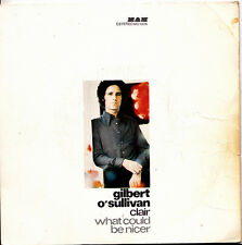 GILBERT O´SULLIVAN-CLAIR + WHAT COULD BE NICER SINGLE VINILO 1972 SPAIN