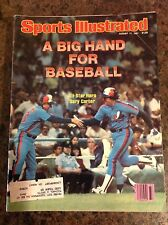 August 17 1981 Gary Carter Montreal Expos Baseball Sports Illustrated Magazine
