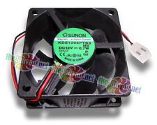 Sunon 60mm x 25mm 12V Fan w/ 2 Pin 8mm Power Supply Style Connector KDE1206PTB3