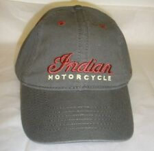 Indian Motorcycle Gray Logo Hat / Ball Cap (2863725) NWT
