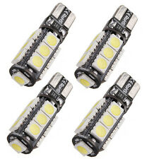 4X ERROR FREE T10 CANBUS W5W 194 168 5050 SMD 13 LED PURE WHITE LIGHT BULB LAMP