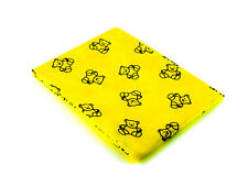 Childrens Arts and Crafts Splashmat Table cover Yellow Teddy Bears ( 1.5m x 1.5m