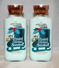 Bath & Body Works Frosted Coconut Snowball Body Lotion X 2