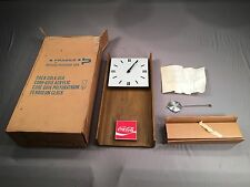 NEW IN AQUA BOX 1974 Antique Coca-Cola Coke Benco G016 CCA366 Pendulum Clock