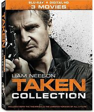 Taken: Complete Liam Neeson Movie Series Trilogy 1 2 3 Boxed BluRay Set NEW!