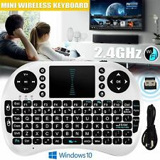 2.4G Mini Wireless Keyboard KODI XBMC Touchpad Mouse Combo For Android TV BOX PC