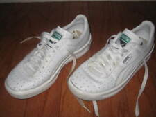 "PUMA ""GV Special"" White Leather Fashion Walking Sneakers / Shoes, Mens Sz 7"