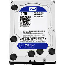 New Genuine Western Digital 4TB Blue Internal Hard Drive (WD40EZRZ)